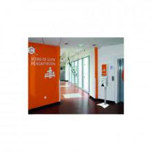 Hôpital distributeur automatique gel hydroalcoolique